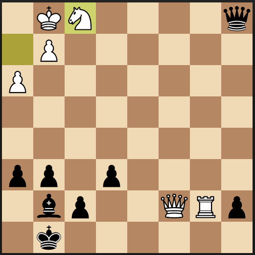 Initial puzzle position
