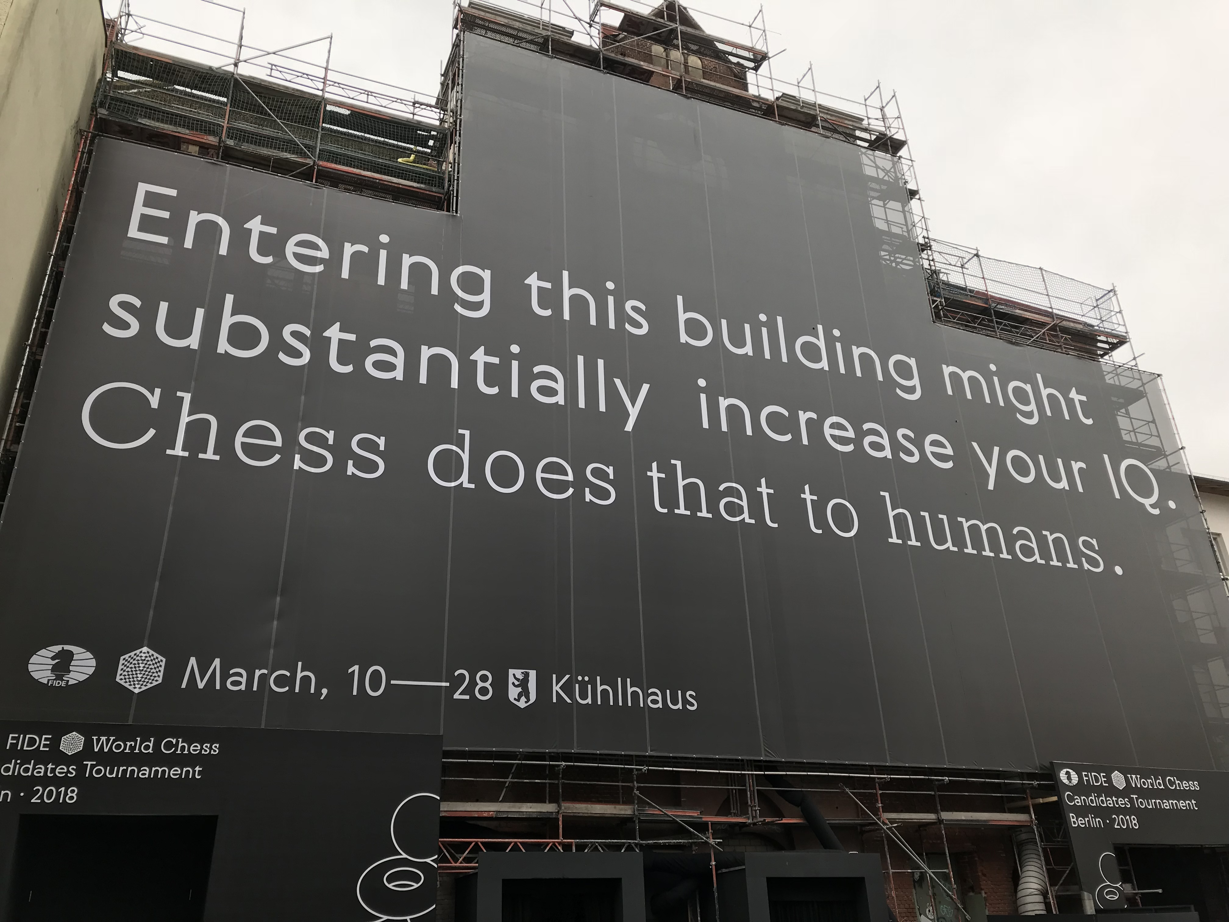 Quote on the Outside of the Building